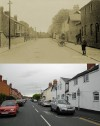 Barrow Road, Quorn � then and now