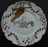 Quorn china ribbon plate 1910